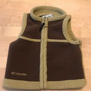 Columbia Baby Unisex Fleece Vest